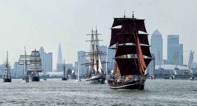 Perpetuo sets sail on the Tall Ships!