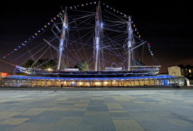 Behind the Scenes at the Cutty Sark